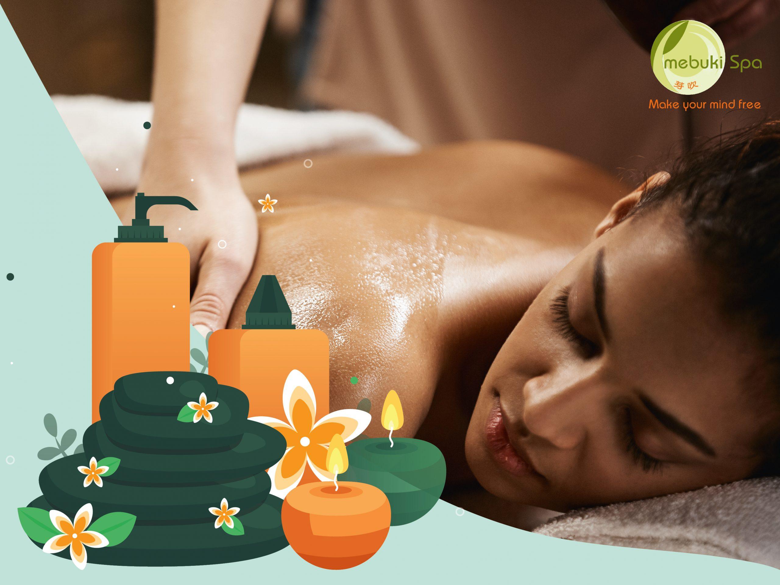 Aroma massage 60 phút