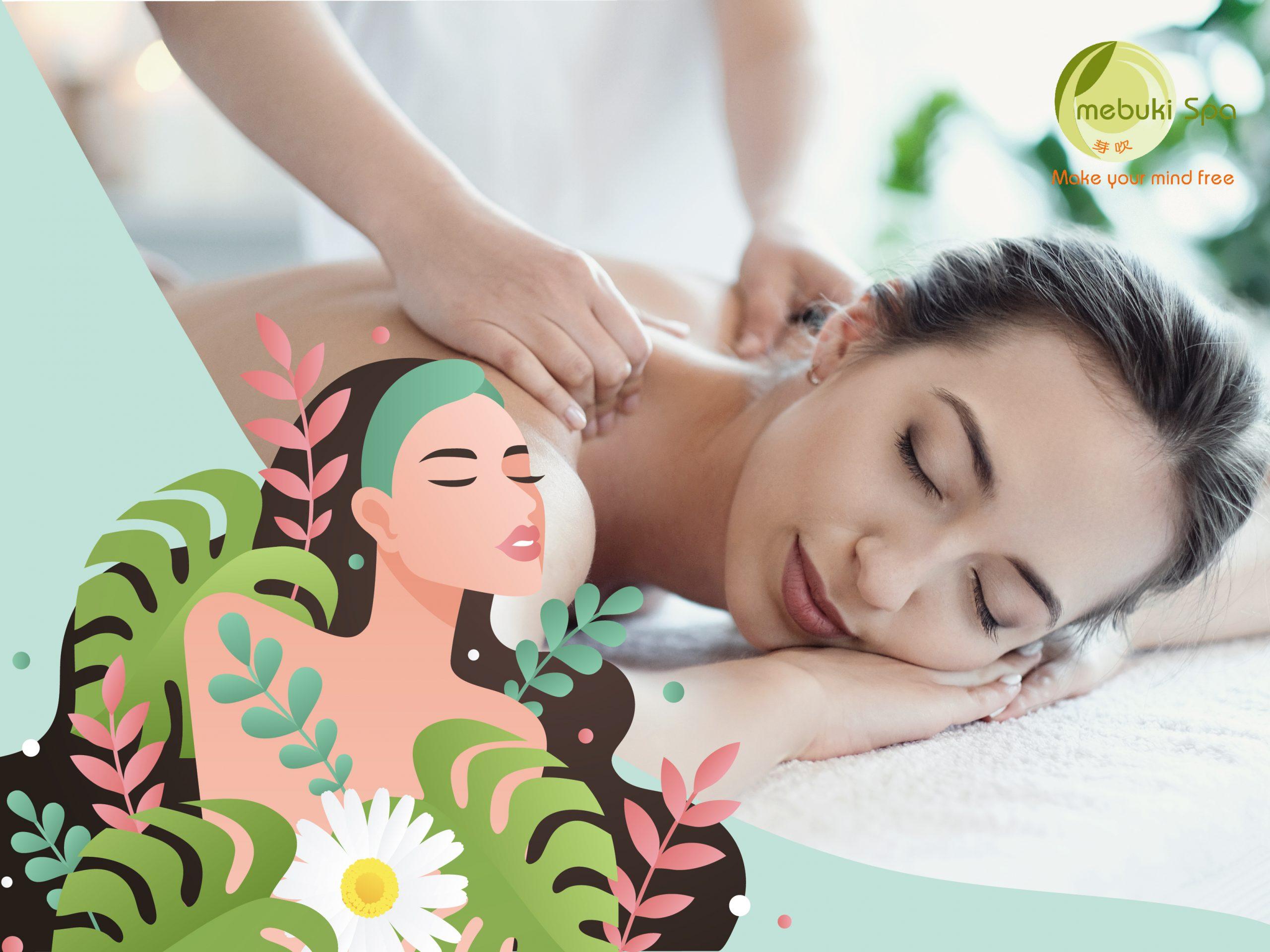 Massage theo phong cách Mebuki 90 phút