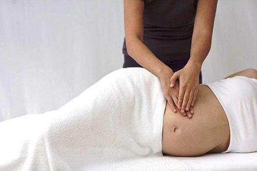 Massage cho mẹ bầu